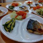 【今日のランチ】サバ&エビチリ定食🦐